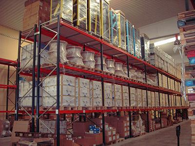 almacén de Atlas Comunicaciones