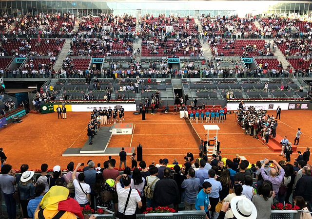jornada de tenis Mutua Madrid Open