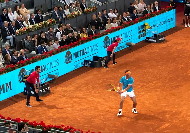 Rafa Nadal en Mutua Madrid Open 2019